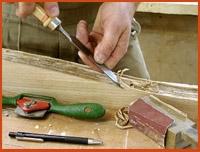 Обработка поверхности мебели
