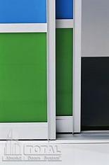 двери-купе: алюминиевая система для шкафов-купе metro absolut