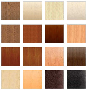 мебельные фасады разных цветов на заказ